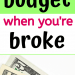 budgeting on low income