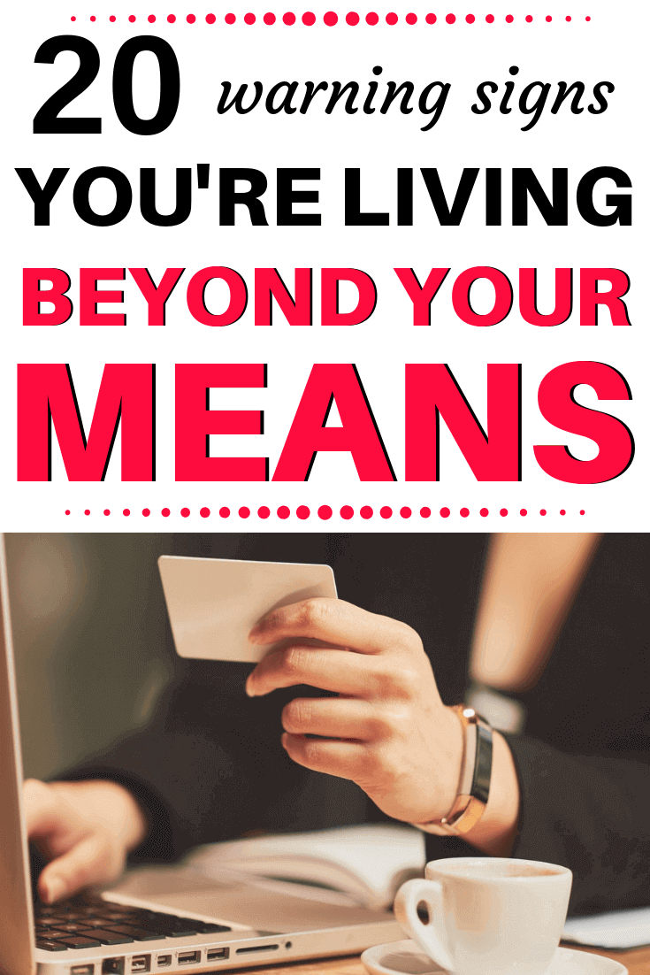 why is it important to live within your means