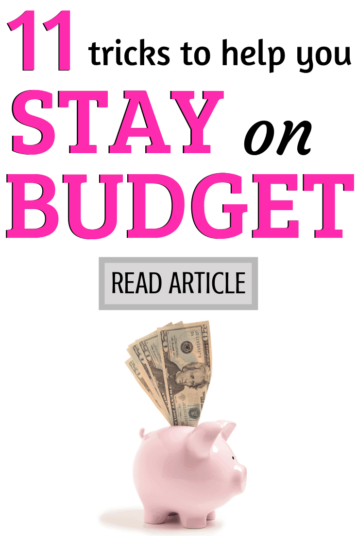 Tricks for staying on budget