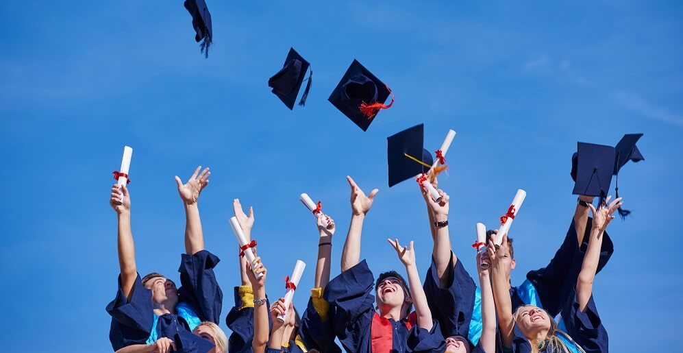 college kids graduating - how to pay off debt fast on low income article