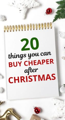 Are you ready to start Christmas shopping and buying Christmas gifts? First let's talk about the things you can buy cheaper after Christmas. You can use this as a guide for Christmas gift ideas for next year. Includes Christmas present ideas, Christmas gift ideas, Christmas gift ideas on a budget, cheap Christmas gifts, affordable Christmas gifts, inexpensive Christmas gifts, Christmas shopping, family Christmas presents. #xmas #christmas #christmasgifts #christmaspresents #holiday #holidaygifts