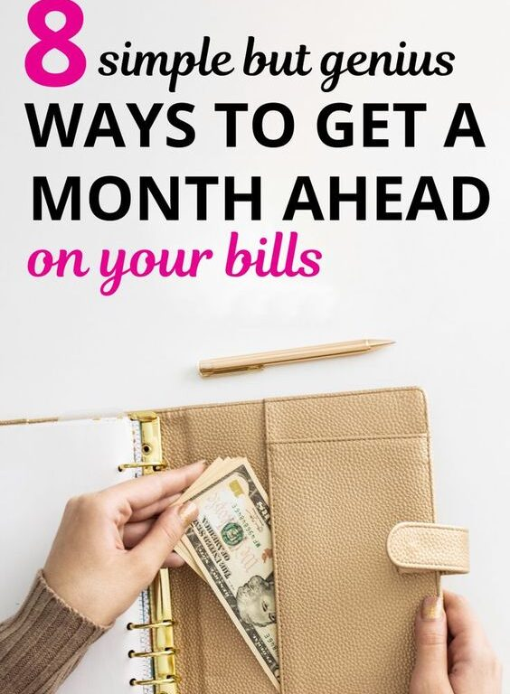 So you're ready to get a month ahead on bills? We've got you covered. Here's your money plan to get you started on this financial journey. These money hacks are simple and can help you build your emergency fund. Includes money tips, money plan, budgeting tips, budgeting hacks, money saving tips, monthly budget, saving ideas, ways to save money, money management, emergency fund. #money #savemoney #moneytips #moneyhacks #budget #daveramsey #frugal #savemoney