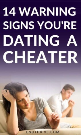 We all have relationship struggles and relationship difficulties. But how do you know if you're dating a cheater? Is your partner faithful to you? These 14 relationship warning signs will help you decide if you should stay in your relationship or breakup. These relationship problems are nothing to ignore. #relationship #dating