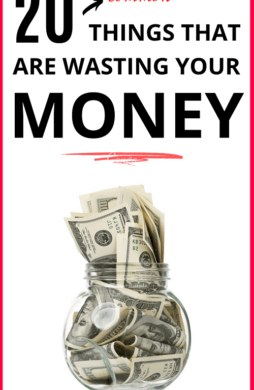 Who doesn't love saving money? When it comes to money saving tips, you might be missing a few things. In this frugal living post, we focus on 20 items you can get rid of to save money. #savemoney #moneysavingtips