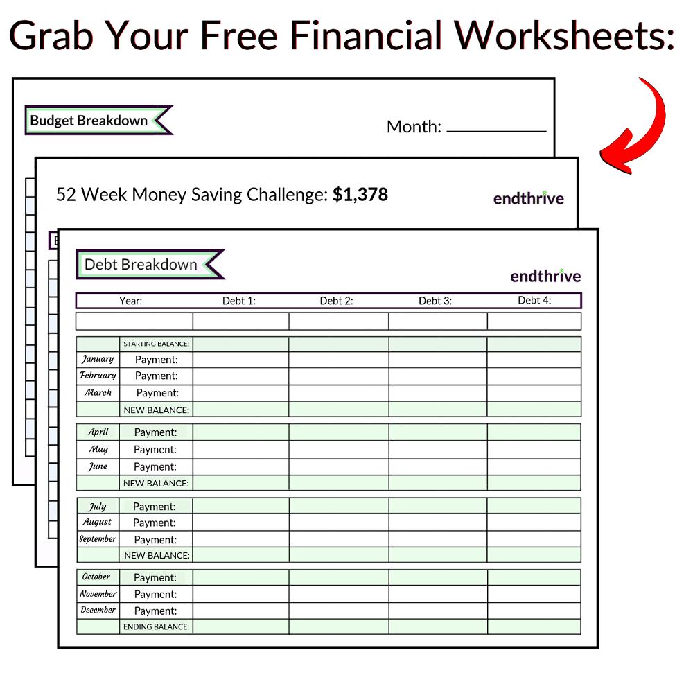 Financial Worksheets