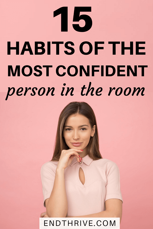 A confident person has different self-improvement habits they've developed. Do you know the signs of confidence in a woman? Let's take a look at confident leaders and see how they use self-care to improve themselves. This tips will help you become incredibly confident. #girlboss #bossbabe #confident #selfcare