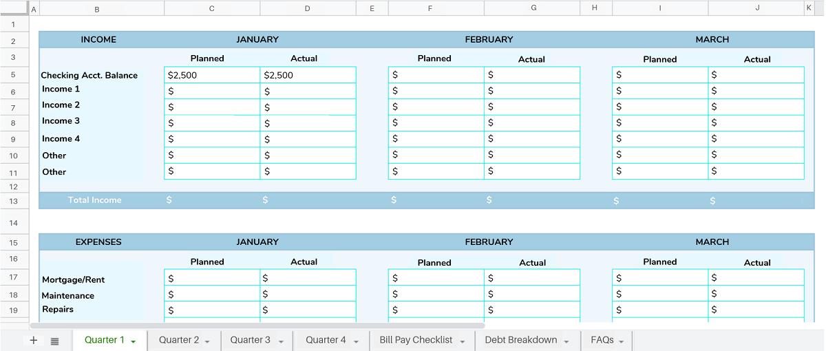Bill Payment Tracker