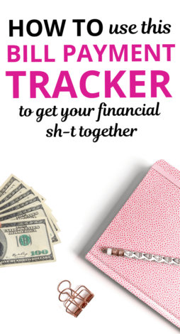 Are you looking for a bill payment tracker to help you organize your finances? Look no further. In this financial article, we show you how to manage your bills using this bill payment checklist. Includes bill payment tracker, bill payment tracker template, bill payment checklist, bill organizer, bill payment tracker spreadsheet, bill payment tracker excel, bill payment tracker google sheets, bill payment tracker for debt payoff, monthly bill tracker. #money #moneytips #moneyhacks #budget #debt