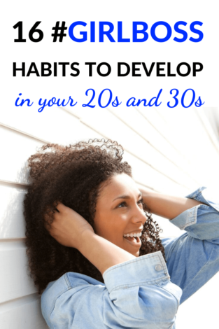 You're ready to be a girl boss and you need a little girl boss motivation. The girl boss lifestyle will give you some self-development inspiration. If you want to become a boss babe, you need to develop these 16 girlboss lifestyle habits. Use these girlboss tips. #girlboss #ladyboss