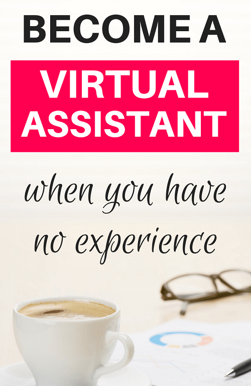 Are you wondering how to become a virtual assistant with no experience? The good news is there are plenty of virtual assistant jobs out there. If you get the right virtual assistant training, you can start running your own virtual assistant business. Click here to learn how to become a virtual assistant with no experience. #virtualassistant #workfromhome #earnmoneyonline #stayathomemomjobs