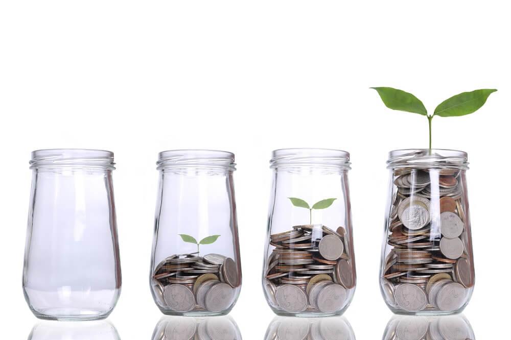 jar full of coins