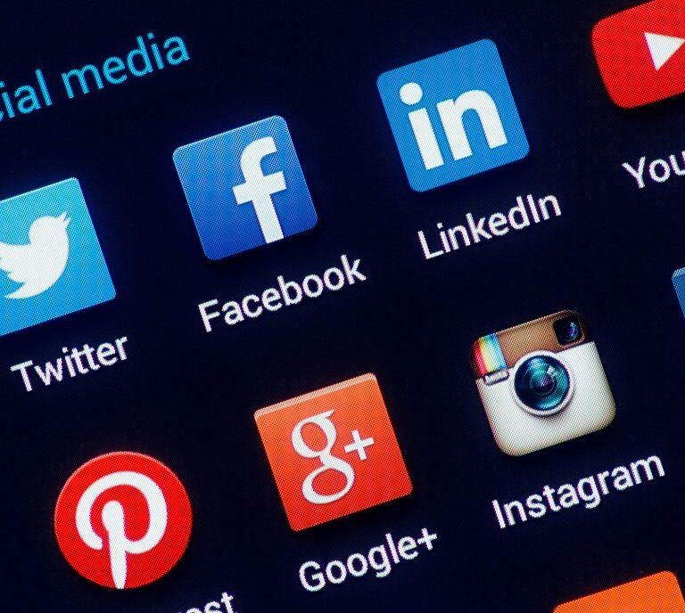 social media icons - break from social media article